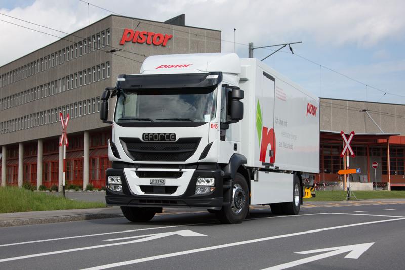 Pistor: nimmt ersten 18-Tonnen-Elektro-Lastwagen in Betrieb