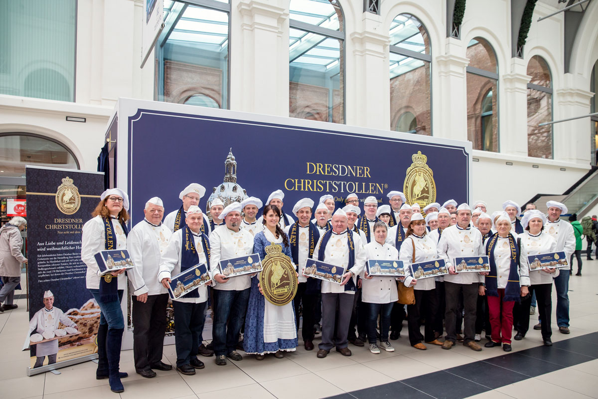 Dresdner Christstollen erneut «Marke des Jahrhunderts»