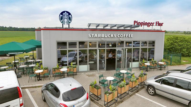 Tank + Rast: testet Kooperation mit Starbucks
