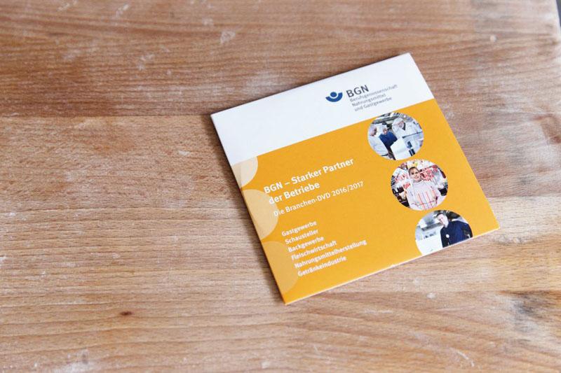 BGN: neue Arbeitsschutz-DVD ist ab sofort verfügbar