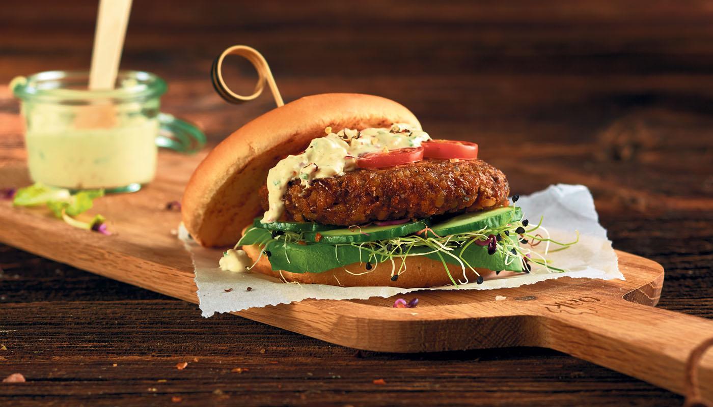 Coop: bringt Insekten-Burger auf den Tisch