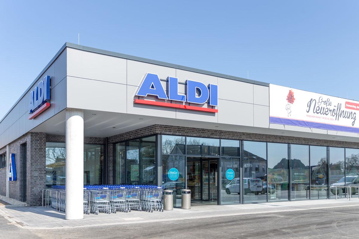 Aldi Nord: modernisiert alle rund 2.300 Märkte