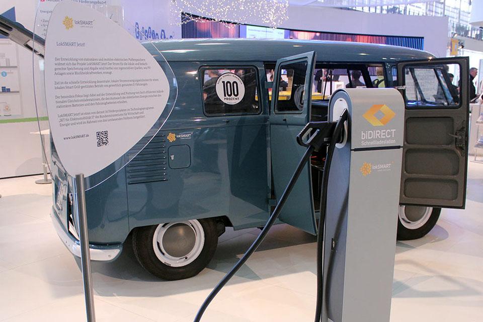 lokSMART: Das Elektroauto als Energiespeicher nutzen