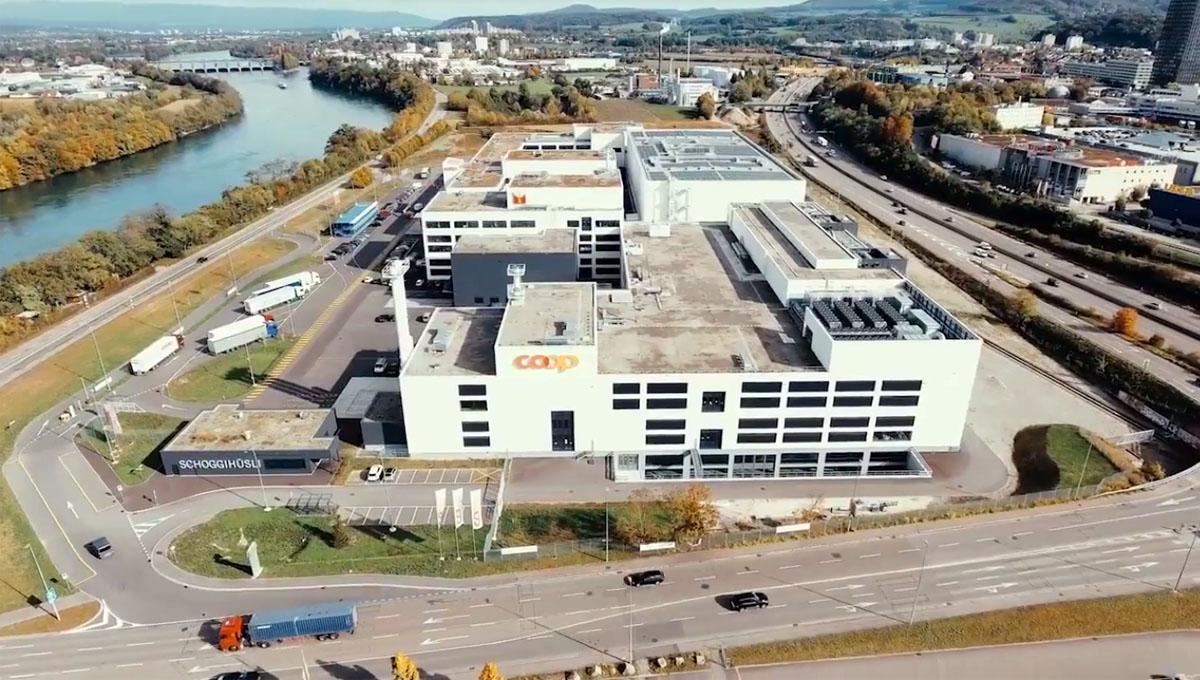 Coop eröffnet größtes Werk in Pratteln