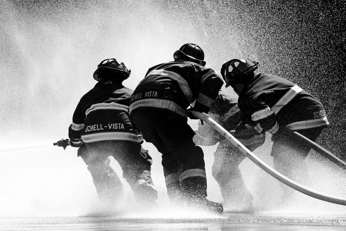 Homburg: Bäckerei Schäfer wird Raub der Flammen