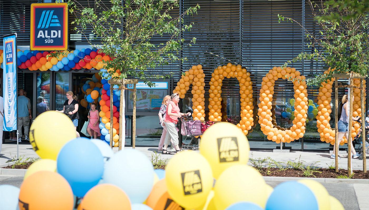 Aldi Süd macht neu: 1000 Filialen im modernen Design
