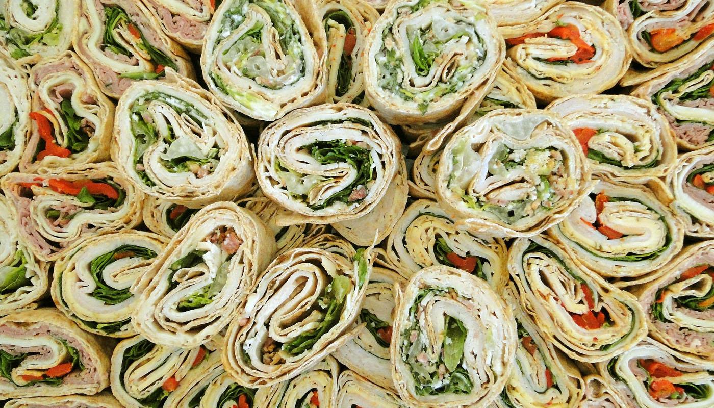 Mit Wraps gesund snacken: Schnell gefüllt und lecker