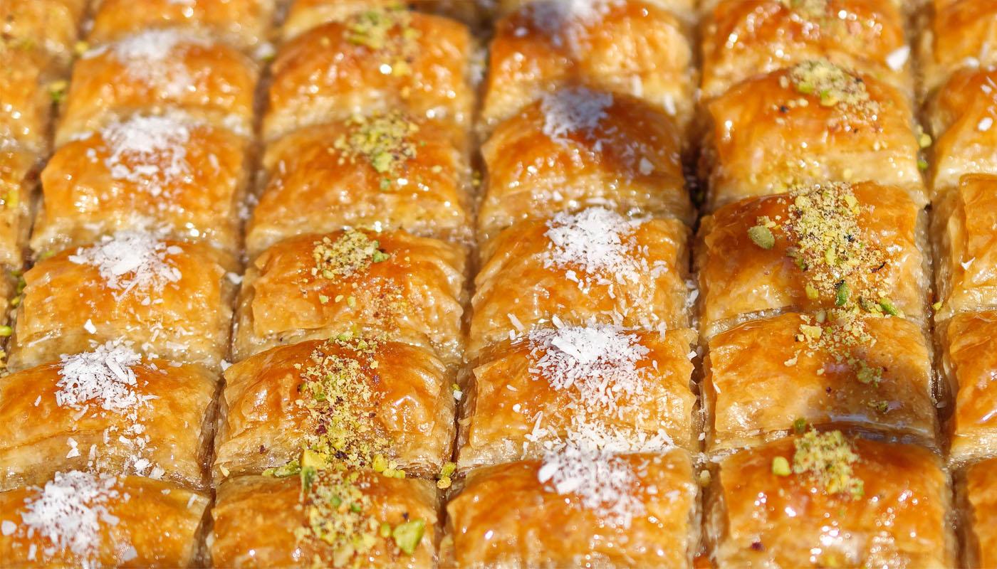 Baklava: süß, nussig und lecker