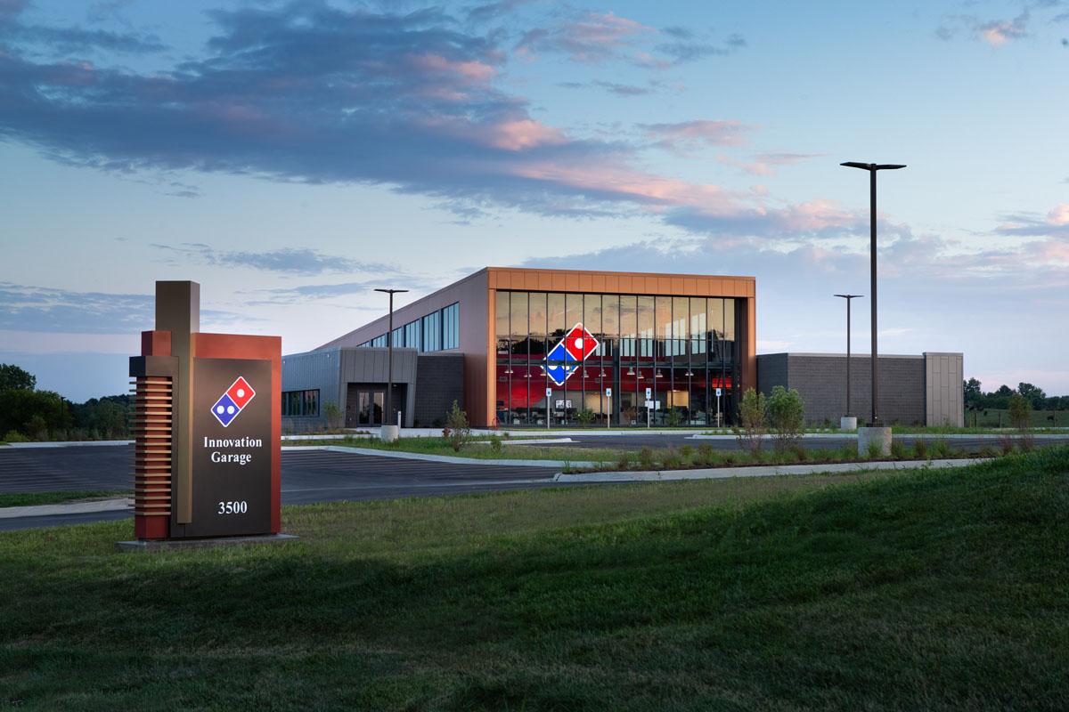 Innovation Garage: Domino's eröffnet neues Kreativzentrum