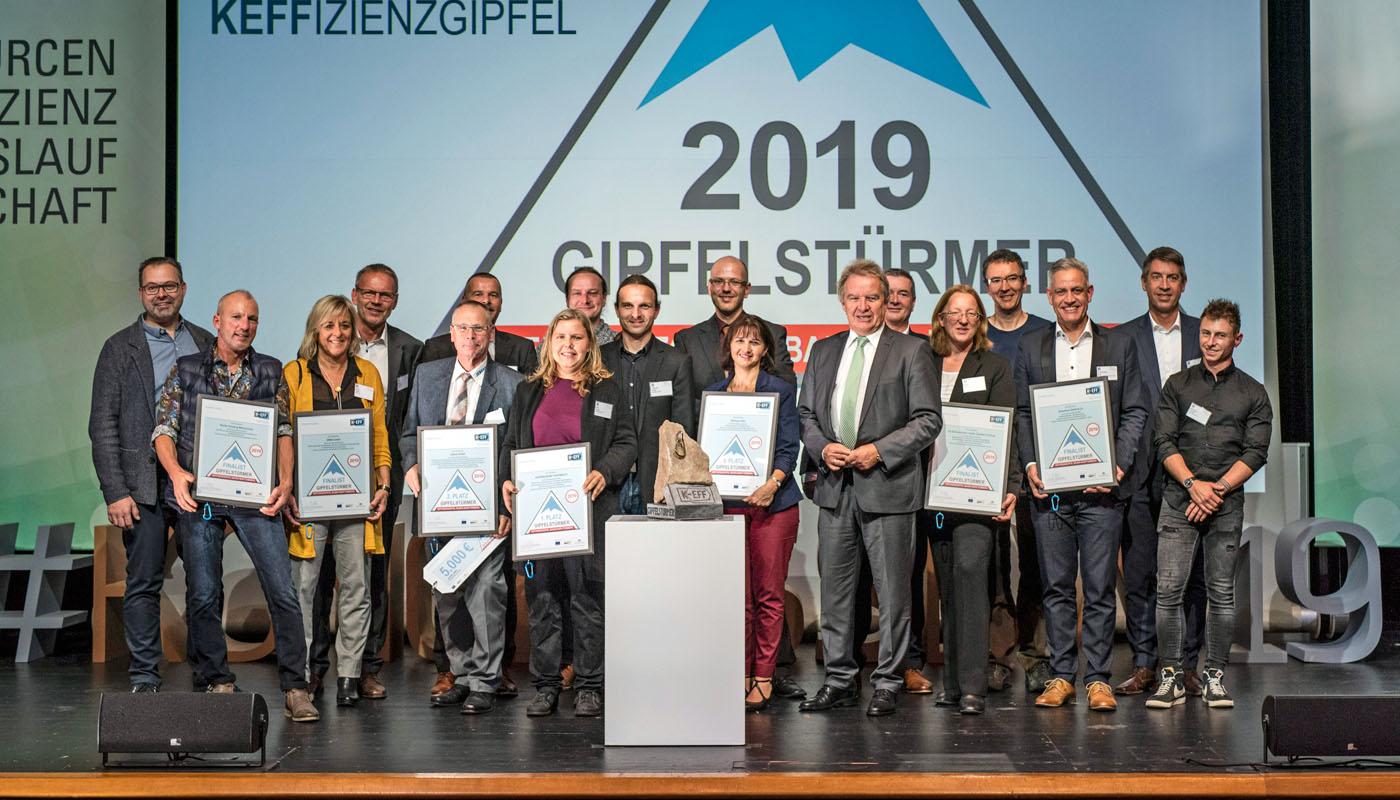 «Gipfelstürmer des Jahres» ist die Bäckerei Tiefenbach