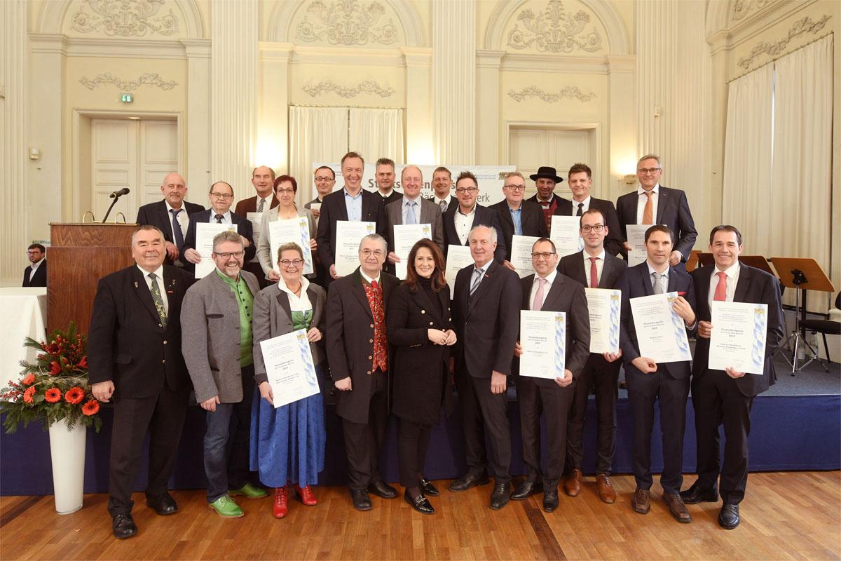 Staatsehrenpreise 2019 für Bayerns beste Bäcker