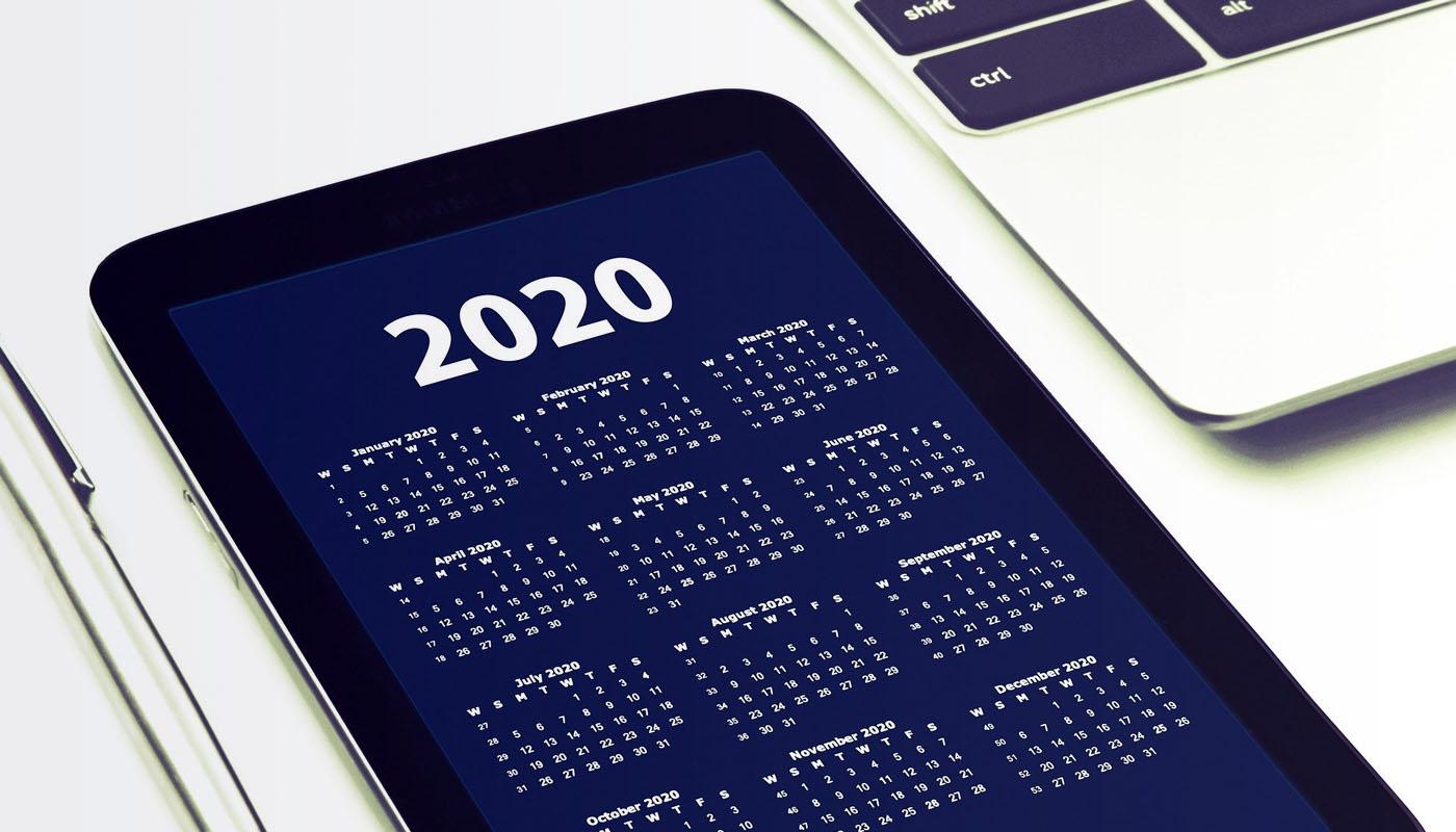 Neujahrsgruß 2020: Unverhofft kommt oft …