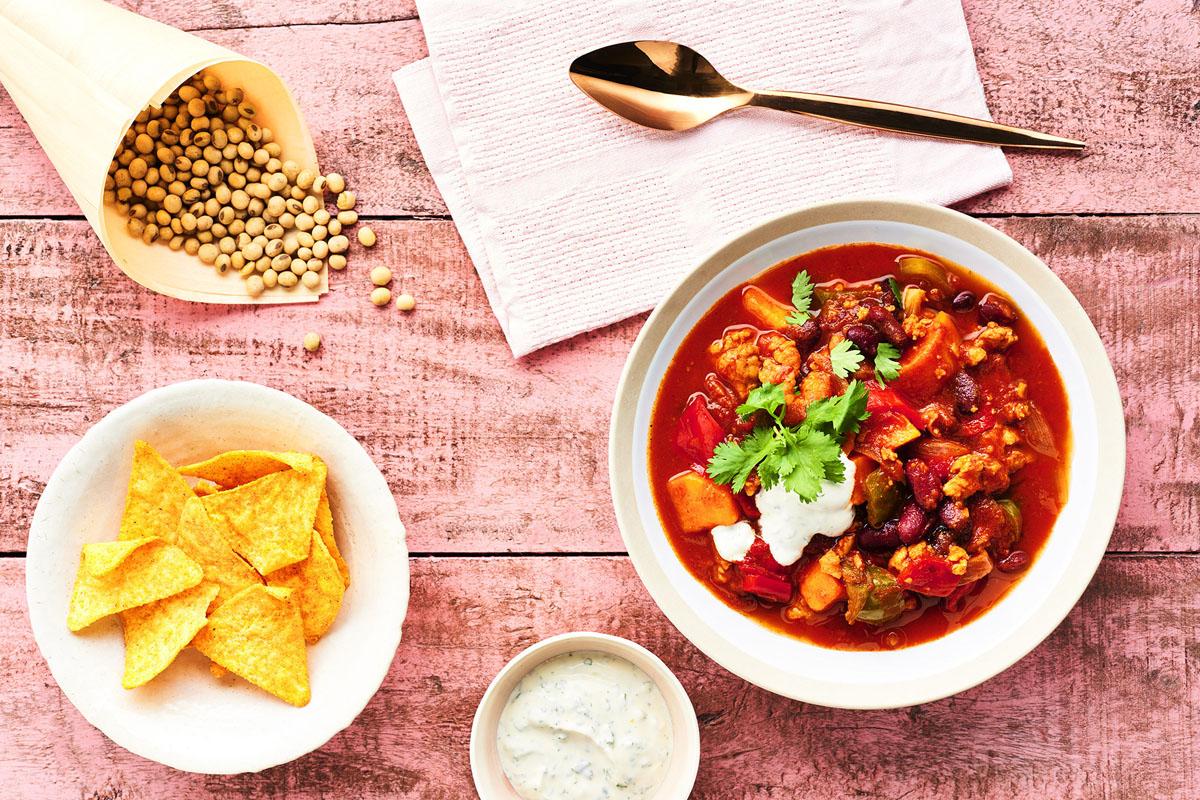 Beliebter Klassiker: Chili sin Carne