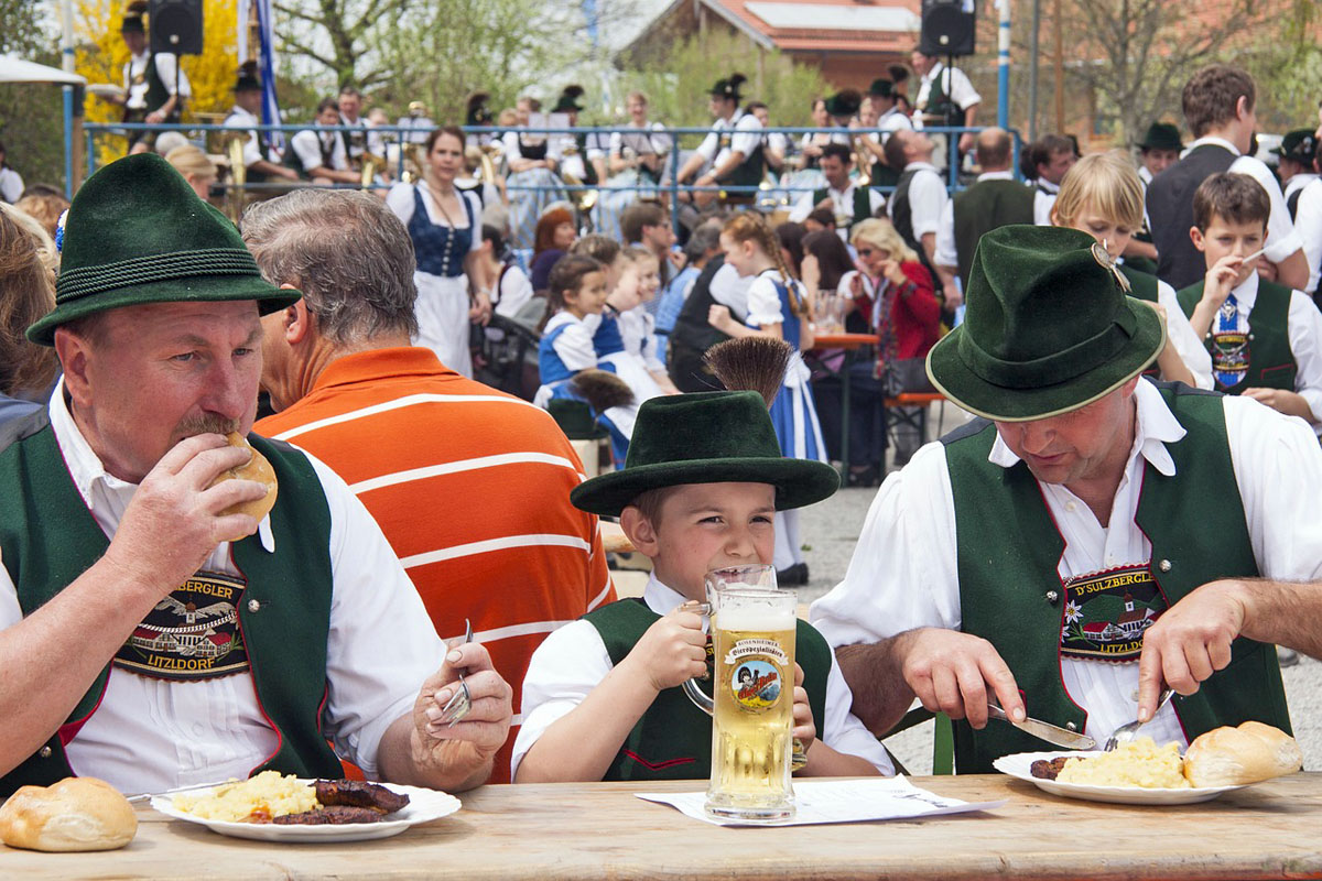 Flüchtlinge München Oktoberfest