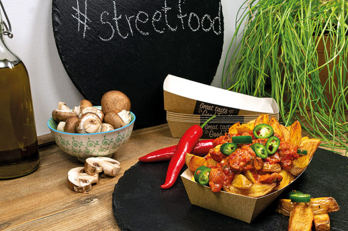 Streetfood mal anders: Vegetarische Poutine aus Québec