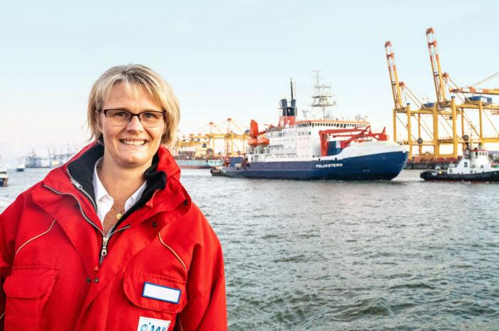 Willkommen! Das Forschungsschiff Polarstern ist aus der Arktis zurück