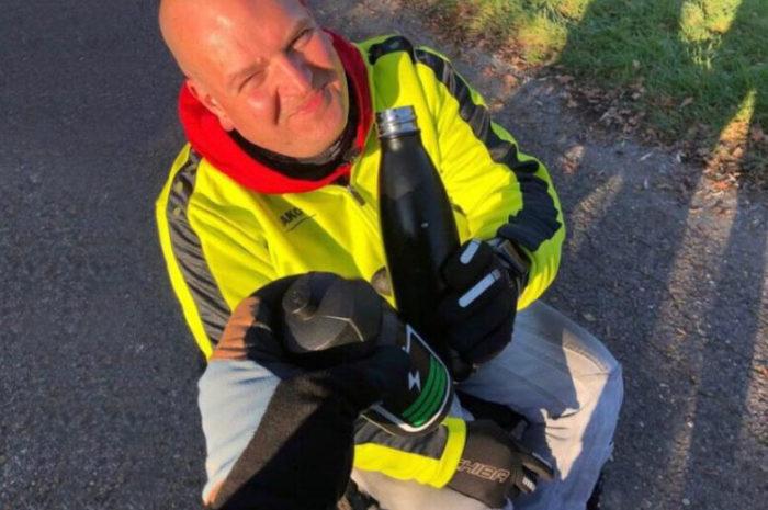 Goecom: Ein Mann und sein Rolli bezwingen 1.000 Kilometer Kurpfalz