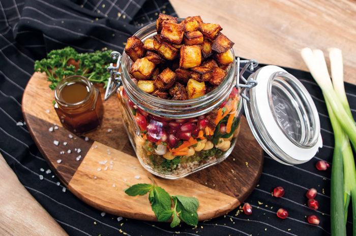 Kartoffelsalat: Frühlingsgenuss mit orientalischer Note