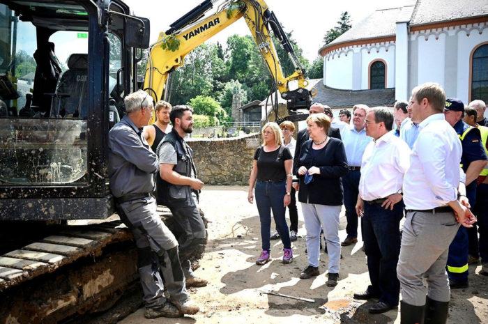Bund beschließt umfangreiches Hilfspaket für Hochwasserregionen