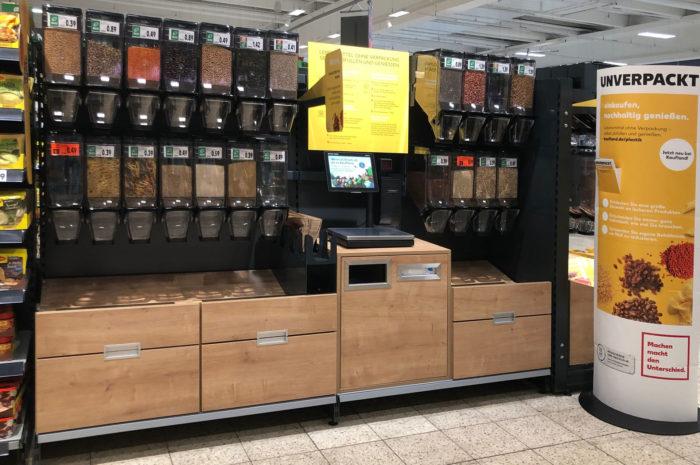 Unverpackt: Kaufland testet für internationalen Einsatz