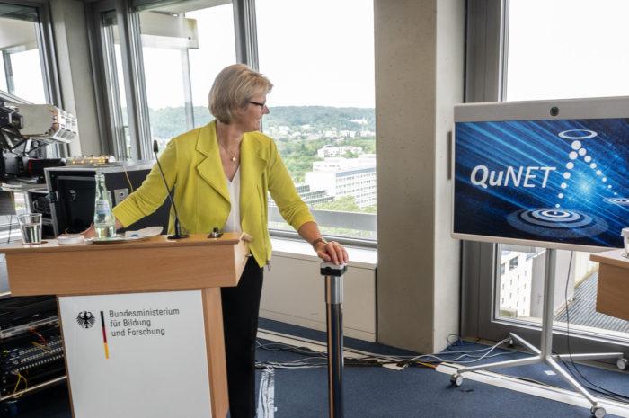 BMBF: Forschung erreicht Meilenstein in der Quantenkommunikation